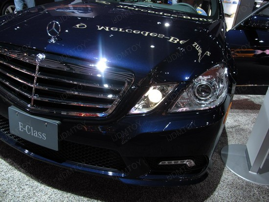 Mercedes E Class LED DRL 2
